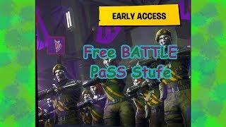 FREE BATTLE PASS STAR! WEEK 4! SEASON 4!! FORTNITE!! Charging screen!!