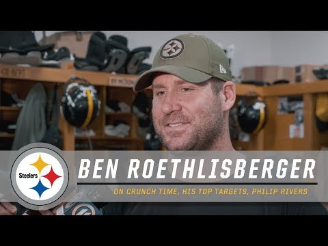 Ben Roethlisberger discusses his top targets, Philip Rivers | Pittsburgh Steelers