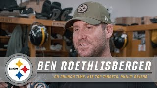 ben-roethlisberger-discusses-his-top-targets-philip-rivers-pittsburgh-steelers