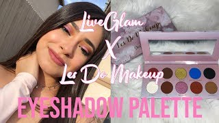 LiveGlam X Les Do Makeup Eyeshadow Palette + LiveGlam Kiss Me April 2019 | Irissa Larane