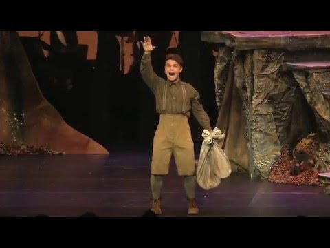Tom Oliver sings 'Giants In The Sky' from Into The Woods