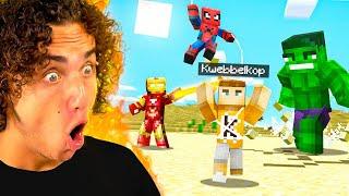 SUPERHEROES Hunt Me Inside Minecraft!