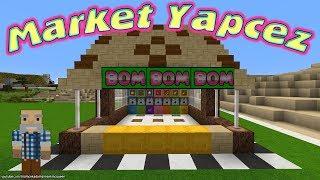 Kamil Dayı Minecraft'ta Market Yapmayı Gösteriyor