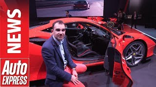 New Ferrari F8 Tributo –replacement for the 488 GTB gets 710bhp