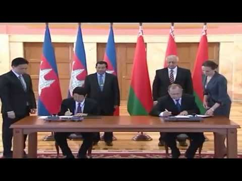Hun Sen  Prime Minister 21to 26 April 2014 in Republic of Serbia Azerbaijan and the Republic of Bela