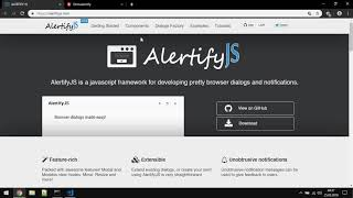 How to use Alertify JS in Angular