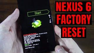 Download lagu Nexus 6 Hard Factory Reset Fastboot Bootloader Recovery Mode MP3
