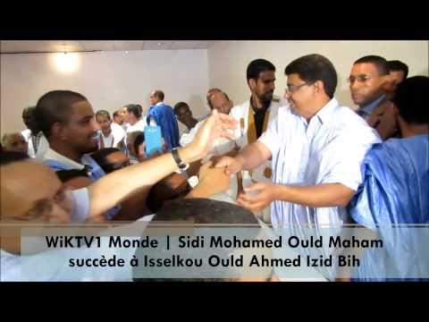 Présidence de l'UPR: Ould Maham succède à Isselkou Ould Ahmed Izid Bih