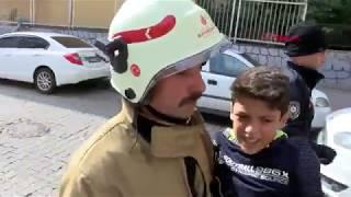 İstanbul'da okulda yangın paniği