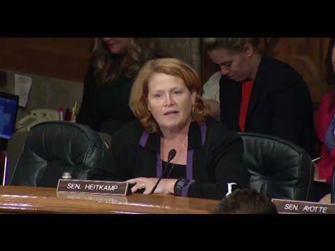 Heitkamp Discusses Federal Prison System at Senate Committee Hearing