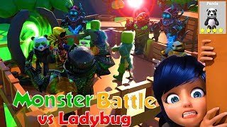 UGUR BUG AGAINST MONSTERS 🐞 ROBLOX MONSTER BATTLE 🐞 TURKISH 🐞 LADYBUG GAME 🐞 VIP SERVER