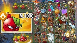 Plants vs Zombies 2 - Alv Super Petagranada Level 1000