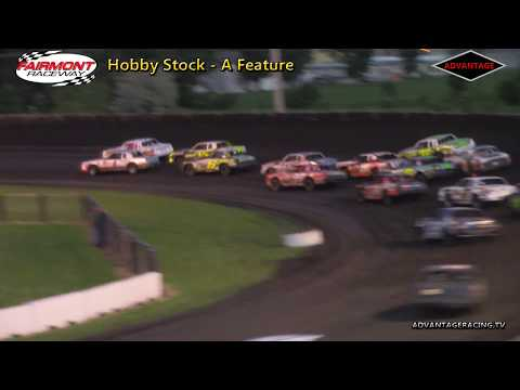 Hobby Stock A Feature - Fairmont Raceway - 6/8/18