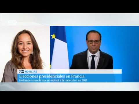 Hollande anuncia que no optará a la reelección en 2017