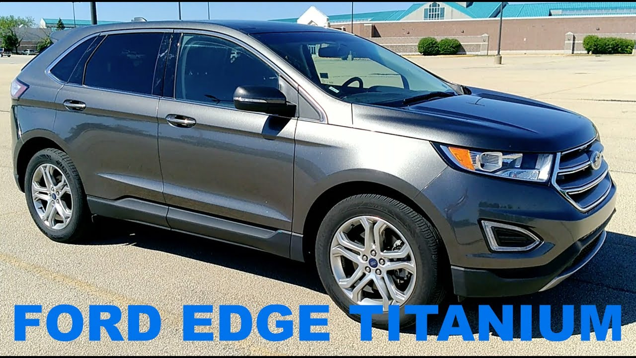 Ford Edge Titanium Full Rental Car Review And Test Drive