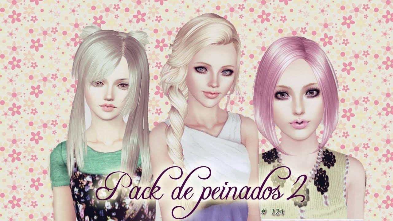 Las mejores variaciones de peinados sims 3 Fotos de tendencias de color de pelo - Descarga Pack de Peinados  Sims 3 - YouTube