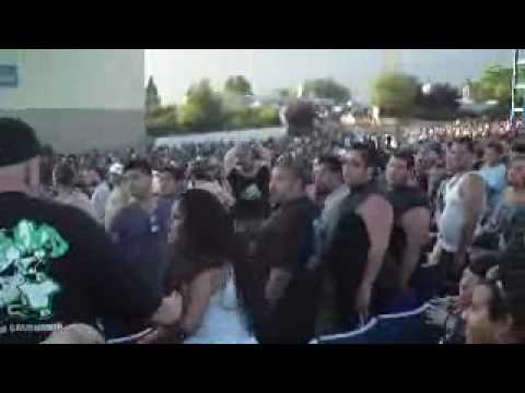 Rockstar Mayhem Tour 2010 (Section 7 Mayhem Fight  2010)