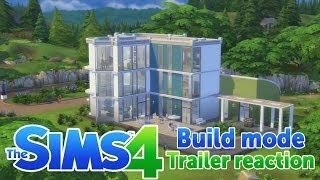 The Sims 4 - Build Mode Trailer Reaction