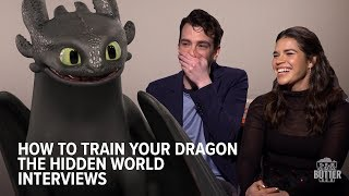 How to Train Your Dragon: The Hidden World Interviews   Extra Butter