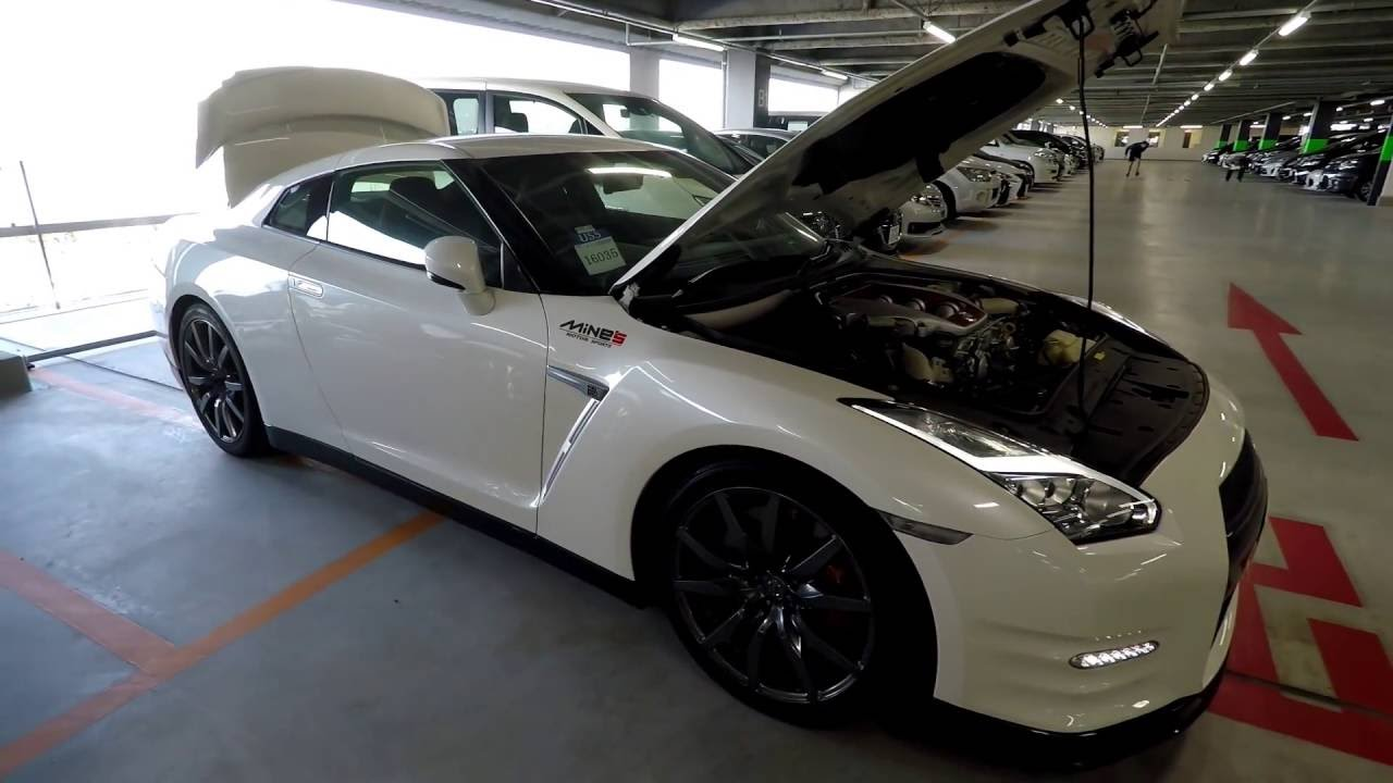 2014 Nissan R35 GTR Black Edition at Japanese (JDM) Car Auction ...
