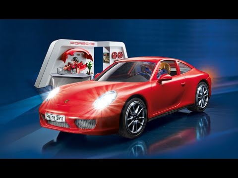 playmobil porsche 911 youtube. Black Bedroom Furniture Sets. Home Design Ideas