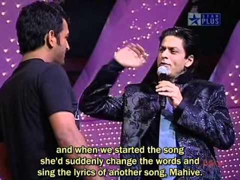 ChakDeYaara . SRK with DHONI  :...