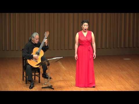 "Brahms: 8/8 'Rote Abendwolken ziehn am Firmament' from  ""Zigeuner Lieder"" (Hugo Conrat)"