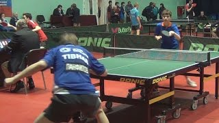 Sergey KORENKOV - Ilya PANFILOV Настольный теннис, Table Tennis
