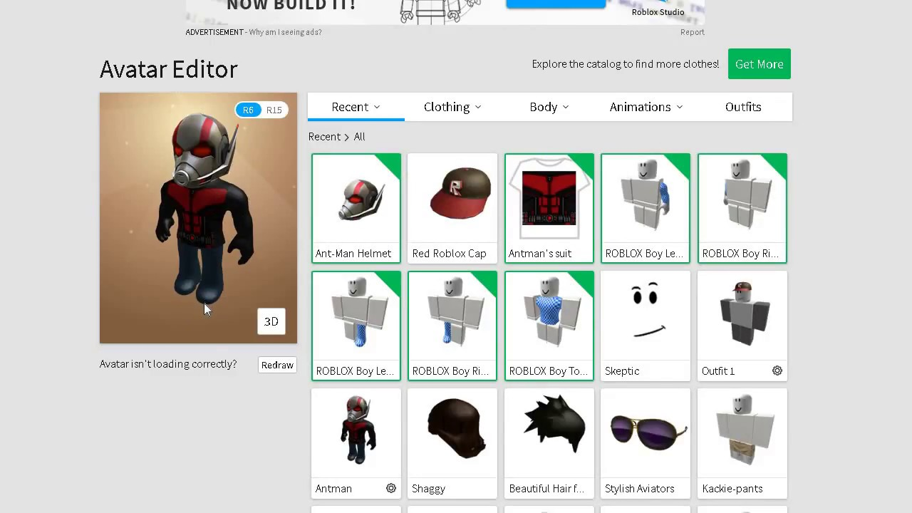 Roblox How To Beome Antman For Free Youtube