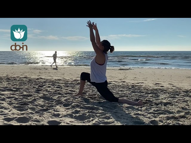 Do-In Yoga Qi-Flow Salutation at the Beach (The Hague NL)