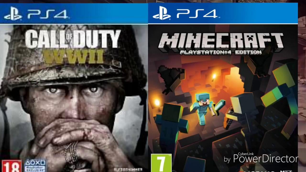 Sorteo Varios Juegos Para Ps4 Gta V Cod Wwii Fifa18 Minecraft