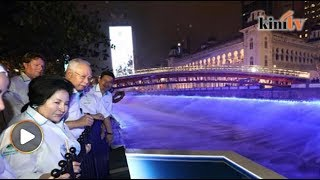 Najib lancar Kolam Biru, sungai pun 'membiru'
