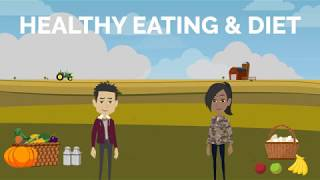 Healthy eating and diet   learn english conversation - speaking fluently common daily expressions