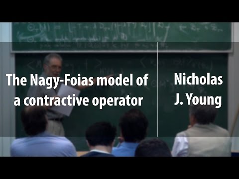The Nagy-Foias model of a contractive operator | Nicholas J. Young | Лекториум