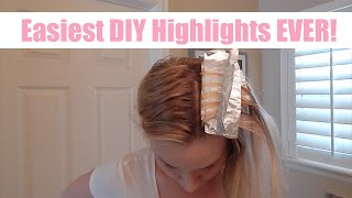 THE BEST & EASIEST DIY HIGHLIGHT VIDEO EVER | skip2mylou