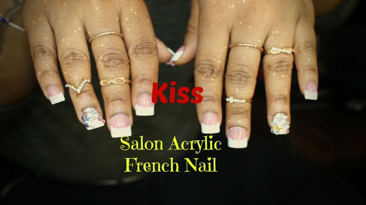 HOW TO Make Press On Nails Last For 3 WEEKS! | KISS Acrylic Nails ...