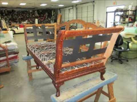 Antique Sofa Upholstery by Joe's Upholstery , Va.Beach, Va