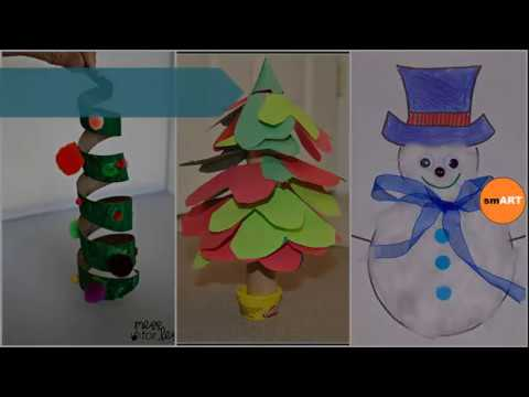 Christmas Crafts Kids Merry Christmas Cards Youtube