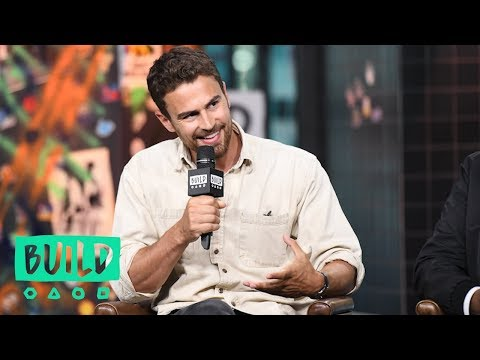 Theo James Describes What It's Like Working With Forest Whitaker