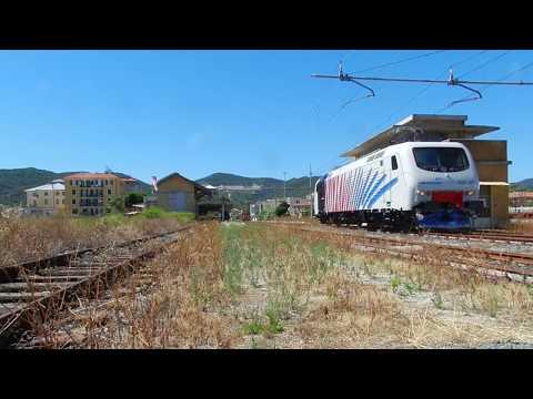"""EU43.007 - Nuova veste zebrata per la ex """"Testarossa"""" di Rail Traction Company"""