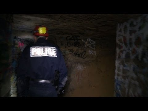 French police's notes from underground