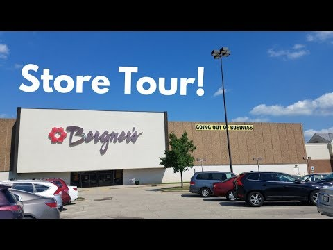 STORE TOUR: Bergner's, CherryVale Mall, Cherry Valley, IL