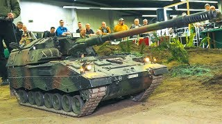 BIG SIZE RC MODEL TANK WITH 85 KG WEIGHT IN MOTION!! *RC MILITARY VEHICLE*RC PZH 2000