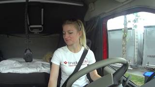 Trucking Girl - Szwajcaria - opłata drogowa, Switzerland - toll ep. 45