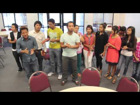 Texas: Refugees From Bhutan Sing At Southern Hills Church Of Christ