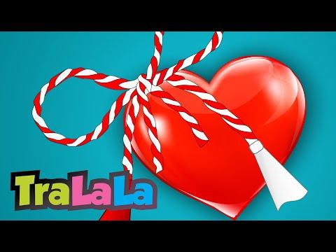 Mărțișor - Cântece de primăvară pentru copii | TraLaLa