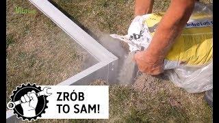 Budowa szklarni cz.1: jak zrobić fundament (bazę) pod szklarnię? Vitavia w Ogrodosfera