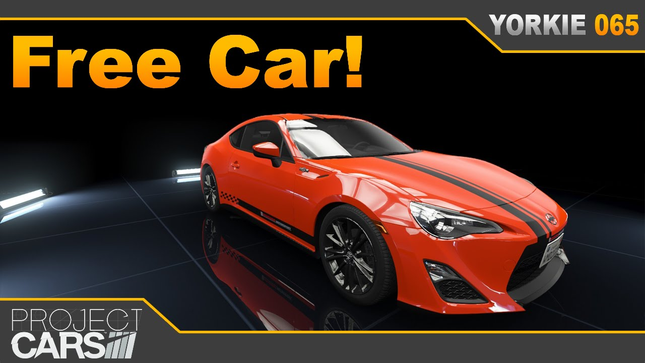 project cars free car number 5 scion fr s