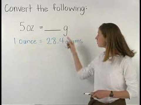 Units of Measurement - MathHelp.com - Pre Algebra Help