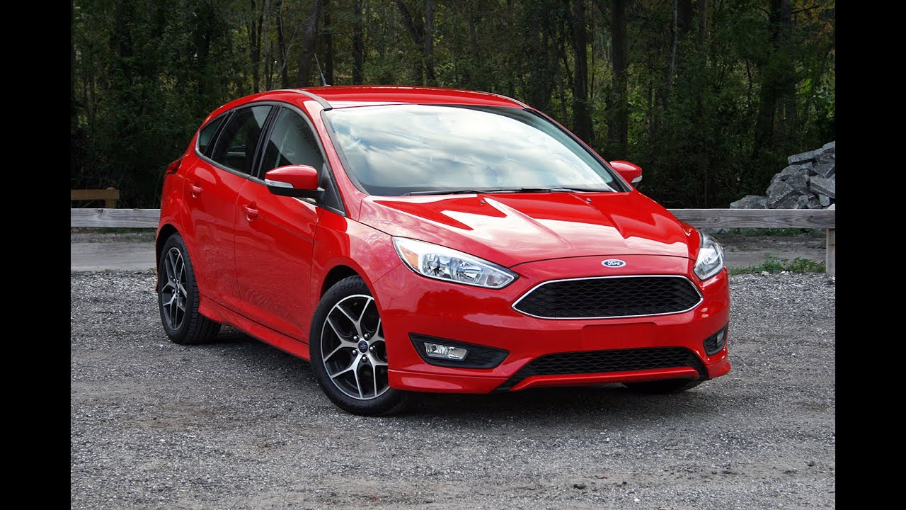 2015 ford focus hatchback walk around